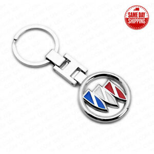 For Buick 3D Logo Sport Alloy Car Home Key Keychain Ring Decoration Gift