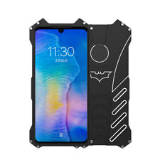 R-Just Batman Metal Shockproof Protection Case Kickstand For Huawei P30 Lite Pro