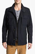 Hugo Boss Black Label 'Capner-w' Field Jacket Size 44 R $550 Retail In Blue