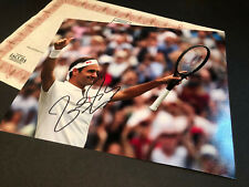 ROGER FEDERER WIMBLEDON SIGNED AUTHENTIC AUTOGRAPH WITH COA