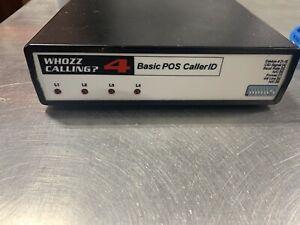 WHOZZ CALLING? POS 4 (BASIC) - ETHERNET LINK - (no Serial Port)
