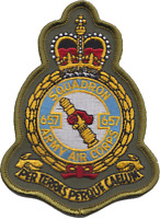 No. 657 Squadron British Army Air Corps AAC Crest Olive MOD Embroidered Patch