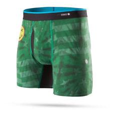 Boxer e intimo da uomo boxer verdi sintetici
