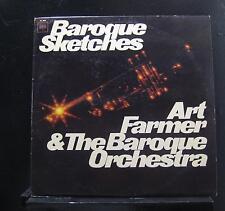 Art Farmer & The Baroque Orchestra - Baroque Sketches LP VG+ CL 2588 Record