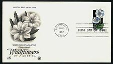 #2661 29c White Mountain Avens, Art Craft-PCS FDC **ANY 4=FREE SHIPPING**