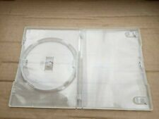 x5 Transparent Jewel DVD Cases Singles - Used, But In Excellent Condition
