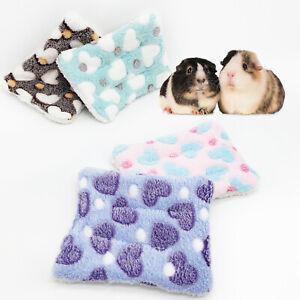 Pet Mat Cat Dog Puppy Kitten Bed Cushion Mattress Fleece Soft Warm Dog Blanket