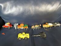 1981 Peterbilt Trucks and Cars Matchbox Lot of Cars