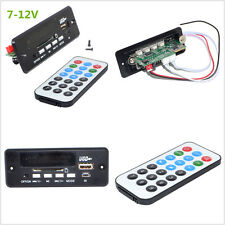 Universal 7~12V Car Handsfree Bluetooth MP3 Decoder Board w/Bluetooth Module+FM