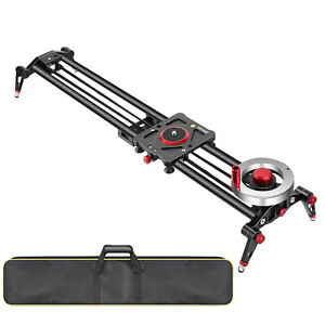 Neewer 31-inch Camera Slider Video Track Dolly Rail Stabilizer 80cm