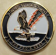 Patrol Sq 30 VP-30 Pro's Nest Chief's Mess Navy Challenge Coin
