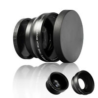 52mm Digital HD 0.45X Super Wide Angle Macro Lens for Canon Nikon Sony Pentax  X