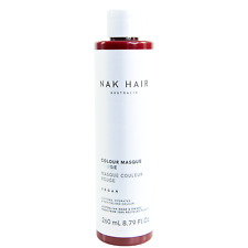 NAK COLOUR MASQUE COLOURED CONDITIONER Rouge 260ml Vegan No Sulphate +Paraben