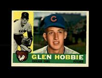 1960 Topps Baseball #182 Glen Hobbie (Cubs) NM