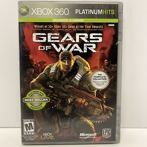 Gears of War Complete Collection 2008 Xbox 360 Platinum Hits
