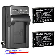 Kastar Battery Wall Charger for Kodak KLIC-5001 & Kodak EasyShare DX6490 Camera