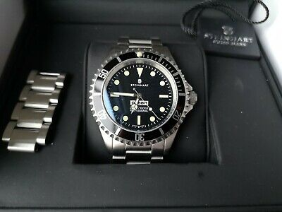 Steinhart Automatic Divers Watch Rare 'Comex' Homage