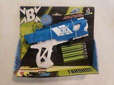 Mattel BoomCo Farshot B Foam Dart Gun with darts