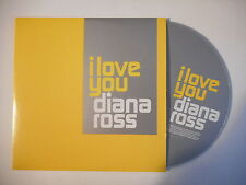 DIANA ROSS : I LOVE YOU - REMEMBER [ SAMPLER - CD SINGLE PORT GRATUIT ]