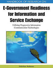 Handbook of Research on E-Government Readiness for Information and Service Excha