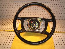 "Merecedes Late W126 560SEC SEL Black 16.4"" inch Leather steering OEM 1 Wheel,T#3"