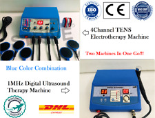Original Ultrasound Therapy 1Mhz Machine & 4-Channel Electrotherapy Equipment
