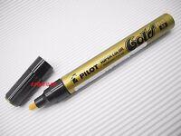 1 x Pilot Super Color Permanent Metallic Color 2.0mm Medium Marker, Gold