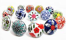 10 Mix Ceramic Door Knobs Kitchen Bedroom Furniture Cupboard Cabinet Knobs SALE!