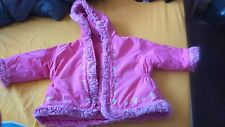adams baby girl coat, size 9-12months, used still in very good condition