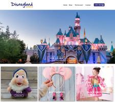 Disneyland Store Website Business - Earn $488 A SALE. Domain|Web Hosting