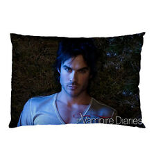 "NEW Damon Salvatore The Vampire Diaries Bed Room Pillow Case/Cover 30"" x 20"""