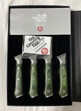 "GORGEOUS Big Green Egg Limited Edition 5"" Steak Knife 4 Pcs Set"