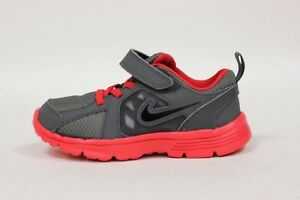 Nike Toddler's Fusion Run (TDV) Shoe NEW AUTHENTIC Dark Grey/Black 525592-012
