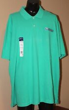 USPS POSTAL SPORT GREE POLO SHIRT WITH EMBROIDERED POSTAL LOGO BACK/FRONT  XXXXL