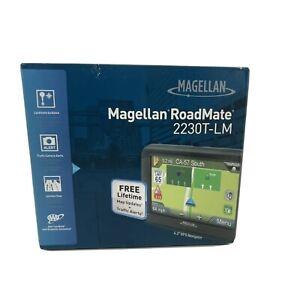 "Magellan Roadmate 2230T-LM 4.3"" Automotive GPS Device FREE Lifetime Maps/Traffic"