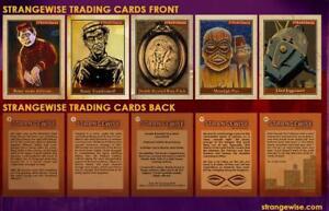 Art Of Robert Jimenez Strangewise Trading Card Set (5) Horror Pulp Lowbrow Art
