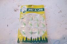 12 Jig-a-jigs 1/16 oz. Fishing walleye crappie bass, ice fish, salt water,green