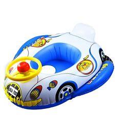 Bébé/Bambin Gonflable Natation Anneau Flotteur Trainer siège voiture avec volant