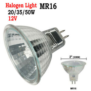 4/6pcs MR16 20W/35W/50W Halogen Spot Dimmable Light White Bulbs Replace Lamps