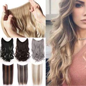 Real Thick Secret Headband Wire in Natural Hair Extensions Invisible As Human TE