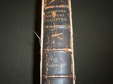 1920-1922 LAROUSSE MENSUEL ILLUSTRE FRENCH MAGAZINE BOUND VOLUME NO. 5 - R 652