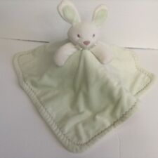 Toys R Us Green Bunny Security Blanket Lovey Especially For Baby Geoffrey
