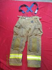 Mfg 2011 Morning Pride 36 X 32 Fire Fighter Turnout Pants Bunker Gear Suspenders
