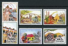 Curacao 2018 MNH Year of Dog 6v Set Dogs Chinese Lunar New Year Stamps
