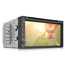 "6.95"" Lecteur DVD 2 Din RGB Bluetooth GPS USB Caméra Radio SD Voiture Europe"