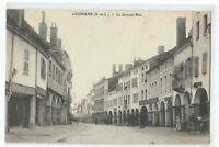 71 LOUHANS , LA GRANDE RUE