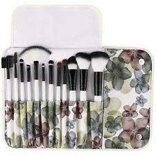 Sephora Makeup Brushes 12 Piece Professional Makeup Cosmetics Brush Set Kits NEW