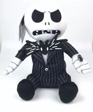 DISNEY The Nightmare Before Christmas Animated Jack Plush Head Spins Musical NEW