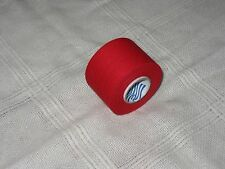 """RED HOCKEY TAPE  1 roll  1.5""""x12.5yds.   * FIRST QUALITY *"""