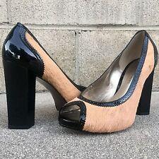 Diane Von Furstenberg Woman Calf Hair Slip-on Sneakers Black Size 9.5 Diane Von Fürstenberg 6hIZ6bdxEB